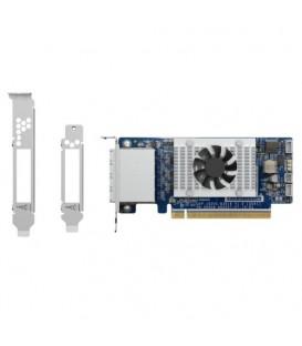 QNAP QXP-1620S-B3616W 4-Port miniSAS HD PCIe Gen3 x 16 Host Bus Adapter
