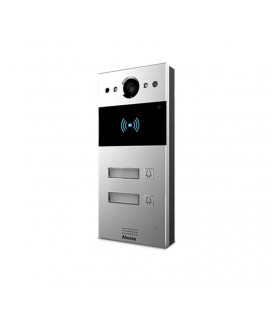 Akuvox R20BX2 Compact SIP Video Multi-button Doorphone with Card Reader & On-Wall Mounting Kit