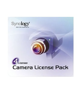 Synology Surveillance Station Camera License 4 Pack