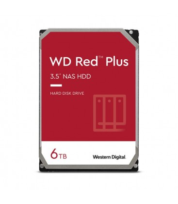 WD Red™ Plus 6TB 128MB SATA WD60EFZX