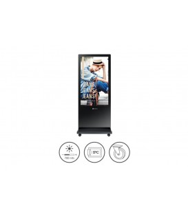 AG Neovo PF-55H 55 inch Floor Stand Signage Full HD LED Display