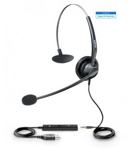 Yealink YHS34 Mono Wideband Headset for IP Phone