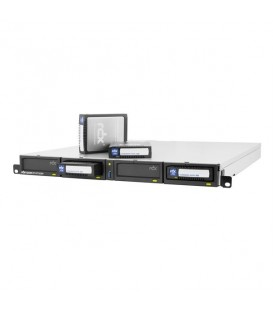 Tandberg RDX® QuikStation™ 4-Bay ISCSI Network-Attached Removable Disk Rackmount Array -  8920-RDX