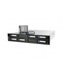 Tandberg RDX® QuikStation™ 8-Bay ISCSI Network-Attached Removable Disk Rackmount Array -  8943-RDX