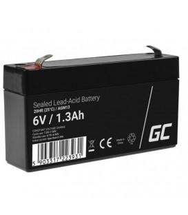Green Cell AGM VRLA Deep Cycle Gel Battery 6V 1.3Ah - AGM13