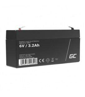 Green Cell AGM VRLA Deep Cycle Gel Battery 6V 3.3Ah - AGM14