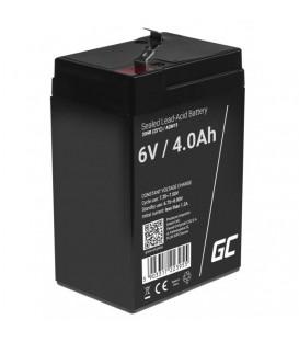 Green Cell AGM VRLA Deep Cycle Gel Battery 6V 4Ah - AGM15