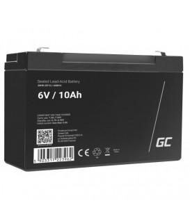 Green Cell AGM VRLA Deep Cycle Gel Battery 6V 10Ah - AGM16