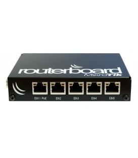 MikroTik Routerboard Black Aluminium Indoor Case CA150
