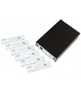 MikroTik Routerboard Black Aluminium Indoor Case CA411-711