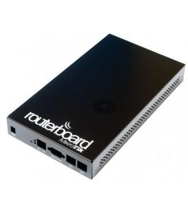 MikroTik Routerboard Black Aluminium Indoor Case CA800