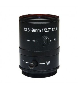 ACTi PLEN-0131 CS Mount Fixed iris F1.4 f2.8-12mm Vari-focal Lens