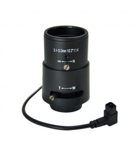ACTi PLEN-2200 CS Mount DC iris F1.4-4 f3.1-13.3mm Vari-focal Lens