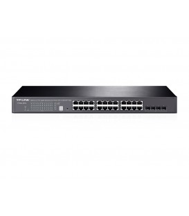 TP-Link T1700G-28TQ 24-Port Gigabit Stackable Smart Switch with 4 10GE SFP+ Slots