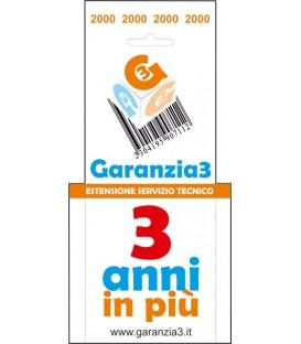 GARANZIA3 - Estensione di Garanzia 3 Anni con Massimale €2000