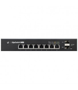 UBIQUITI EdgeSwitch™ 8 150W Managed PoE+ Gigabit SFP Switch