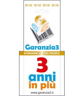 GARANZIA3 - Estensione di Garanzia 3 Anni con Massimale €5000