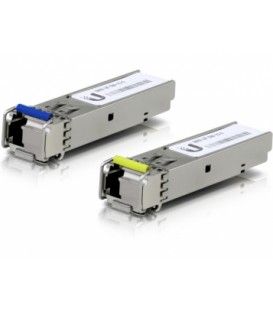UBIQUITI FiberModule™ UF-SM-1G-S Single-Mode Fiber SFP 1-Pair