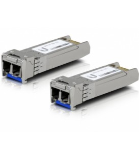 UBIQUITI FiberModule™ UF-SM-10G Single-Mode Fiber SFP+ 2-Pack