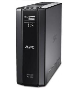 APC Back-UPS PRO 1200VA 720W LCD Green Schuko Sockets BR1200G-GR
