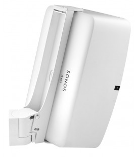 Cavus CMP5VW Vertical Wall Mount Full Motion Bracket for Sonos Play:5 (Gen. 2) White