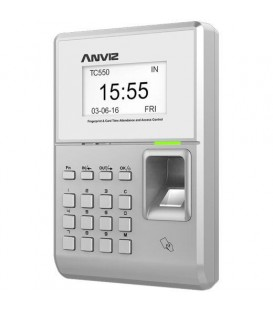 ANVIZ TC550 Fingerprint, Keypad & RFID Time Attendance & Access Control System