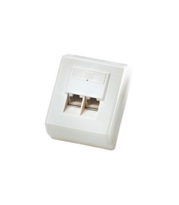 Roline Surface Mount Wall Box Cat.5E UTP White