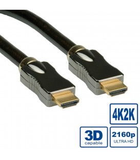 Roline HDMI 4K Ultra HD Cable with Ethernet M-M 2 mt.