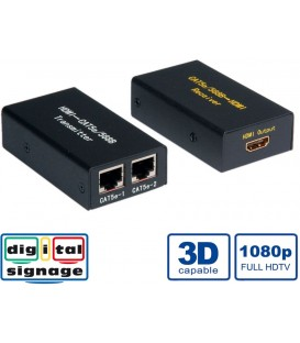 Value HDMI Video Extender over Twisted Pair 25mt. 3D 1080p