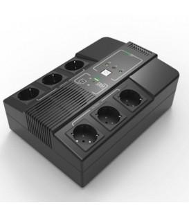 Elsist Multistation 1000 Line Interactive Monofase UPS Multipresa 1000VA 550W