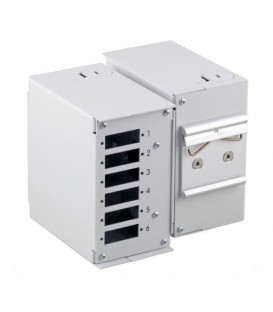 Intellinet Mini Box Ottico su Barra DIN senza Pannello Frontale
