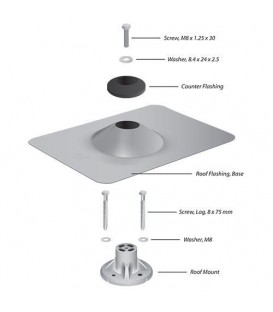 UBIQUITI sunMAX™ Roof Mount Kit SM-RM-C