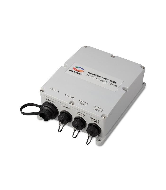 Microsemi pds 102go outdoor 3 port gigabit poe switch dnl trading - 12 port gigabit poe switch ...