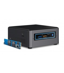 Intel® NUC Mini PC Kit NUC7i3BNHX1 with 16GB Intel® Optane™ Memory