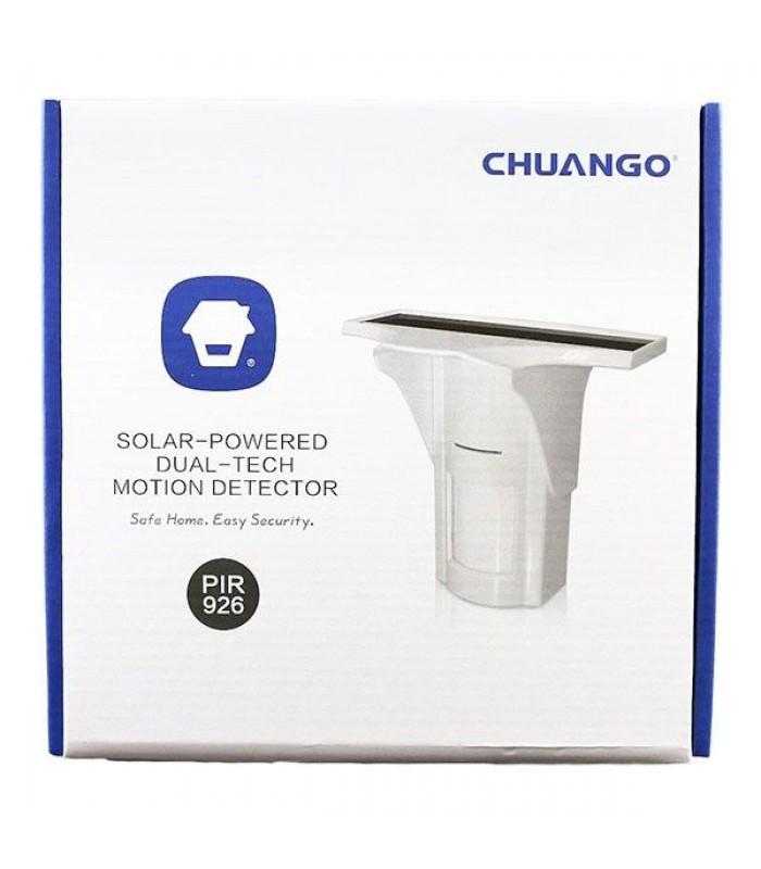 CHUANGO PIR-926 Solar-Powered Dual-Tech Outdoor PIR Motion Detector - DNL Trading