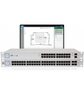UBIQUITI UniFi® Switch 48 500W Managed PoE+ Gigabit SFP Switch