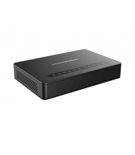 Grandstream HT818 8-Port FXS Gateway with Gigabit NAT Router