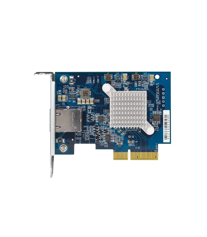 QNAP QXG-10G1T Single-port 10GbE PCIe Gen3 x4 Network Expansion Card