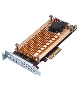 QNAP QM2-2P-244A Dual M.2 22110/2280 PCle SSD Expansion Card