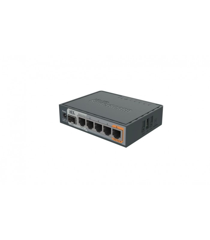 MikroTik Routerboard Gigabit Ethernet Router hEX S with SFP Port & PoE -  RB760iGS