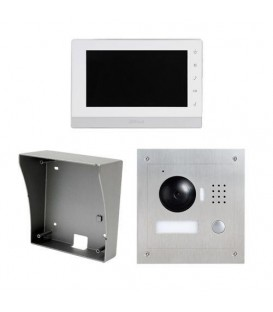 Video Intercom 7 Inch IP Surface Mount Kit