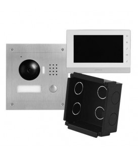 Video Intercom 7 Inch IP Flush Mount Kit