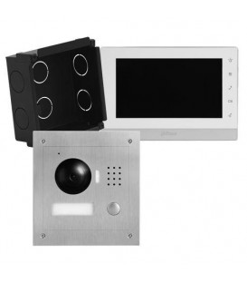 Video Intercom IP 2-Wire Flush Mount Kit