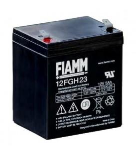FIAMM 12FGH23 Batteria al Piombo VRLA 12V 5Ah (Faston 250 - 6,3mm)