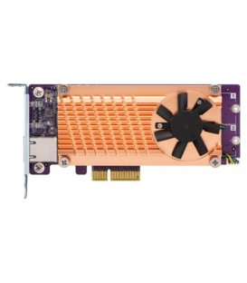 QNAP QM2-2P10G1TA Dual M.2 2280 PCIe SSD & Single-Port 10GbE Expansion Card