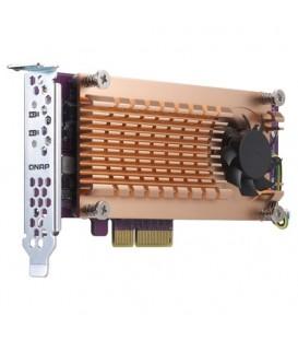 QNAP QM2-2P-384 Dual M.2 2280 PCIe NVMe SSD Expansion Card