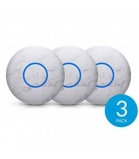 UBIQUITI nHD-cover-Marble-3 - MarbleSkin Design Upgradable Casing for UniFi nanoHD 3-Pack