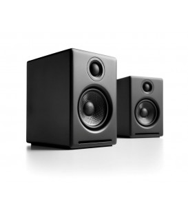 Audioengine 2+ Diffusori Amplificati Wireless Bluetooth - Satin Black
