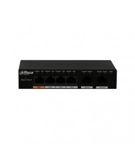 Dahua PFS3006-4ET-60 4-Port Fast Ethernet PoE Switch