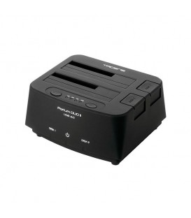 "TACENS Portum DUO II 2.5"" & 3.5"" Double SATA HDD USB 3.0 Docking Station"